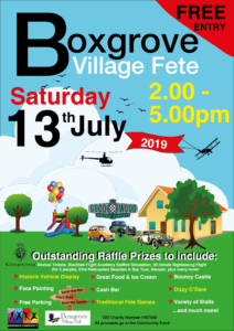 Boxgrove Village Fete @ Boxgrove Village Hall and Green